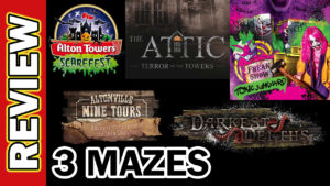 Video Thumbnail - 3 Mazes Experience Toxic Junkyard The Attic Altonville Mine Darkest Depths 01