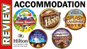 Video Thumbnail - Alton Towers Accommodation Hotel Splash Landings Tree CBeeBies
