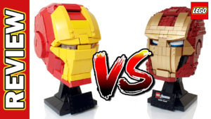 Video Thumbnail - Iron Man Custom MOC vs LEGO Iron Man Helmet 76165 01b