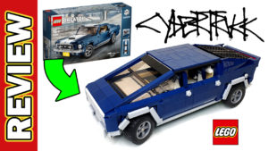 Video Thumbnail - LEGO Ford Mustang 10265 to Telsa Cybertruck 01