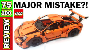 Video Thumbnail - LEGO Porsche 911 GT3 RS Review - Major Mistake