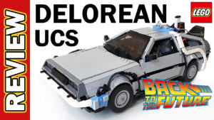 Video Thumbnail - Back to the Future UCS Delorean David Slater BTTF 01